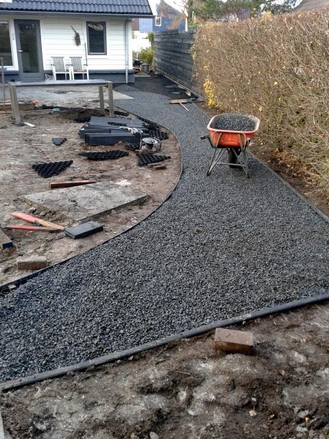 Tuinaanleg steenwijk hoveniersbedrijf gebr de vries - Tuin grind decoratief ...