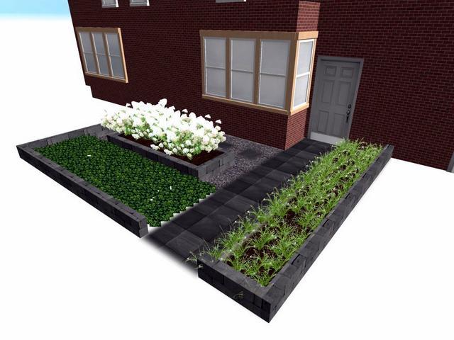 Tuinontwerp aanleg voor achtertuin in steenwijk for Tuin 3d ontwerpen