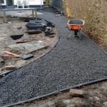basaltsplit grind tuinaanleg