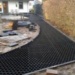 easygravel splitplaat aanleg tuin grind
