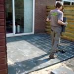 terras bestrating aanleggen