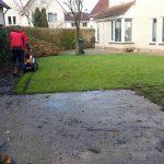 Bestaand gras verwijderen